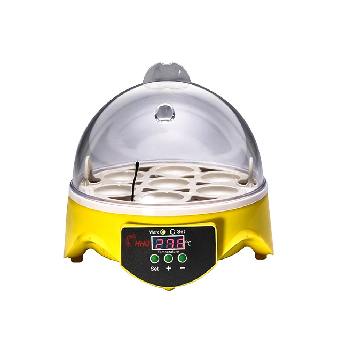Mini 7 Eggs Incubator Fully Auto Digital LED Chicken Duck Hatcher Egg Incubator Machine Household Four SpecificationsMini 7 Eggs Incubator Fully Auto Digital LED Chicken Duck Hatcher Egg Incubator Machine Household Four Specifications