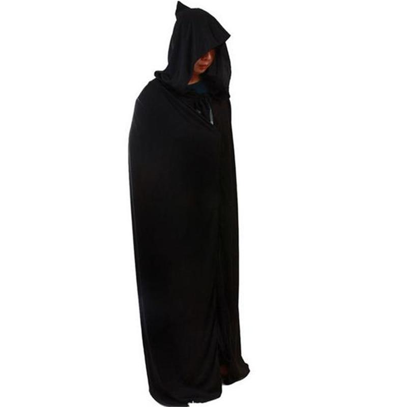 1628 Hotsale Hooded Cloak Halloween Party Costumes Adult Death Reaper Demon Vamp