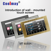 """Coolmay MT6050H W 5"""" TFT HMI human machine interface panel with ethernet monitoring for pc industrial