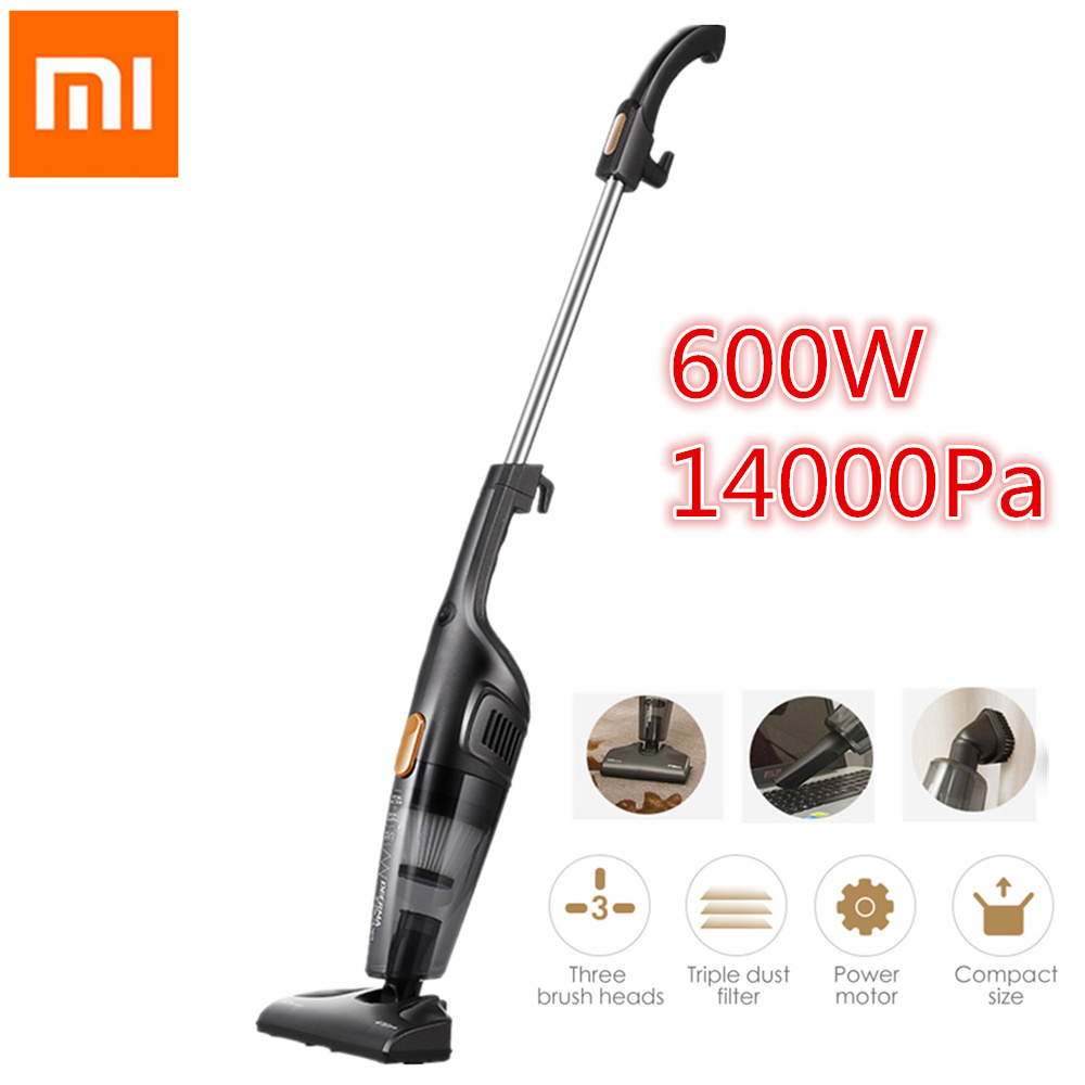 xiaomi deerma portable handheld vacuum cleaner household silent vacuum cleaner strong suction. Black Bedroom Furniture Sets. Home Design Ideas