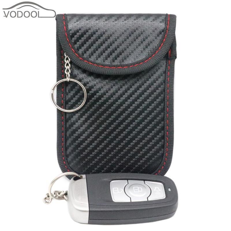 Bisi Goro Neue Doppel-schicht Anti-strahlung Signal Abschirmung Tasche Schlüssel Universal Handy Rfid Anti-magnetische Handy Tasche Geldbörsen & Halter