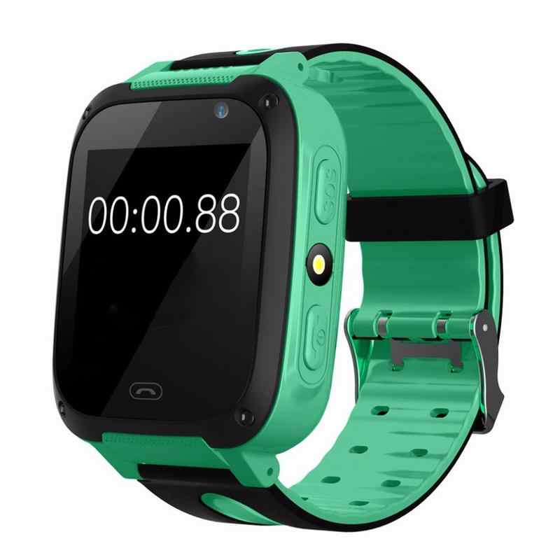 V6 Children Kids GPS Watch Kids Smart Watch With SIM Card Smart Clock LBS Tracker Camera Bluetooth Anti Lost Monitor SOS Call