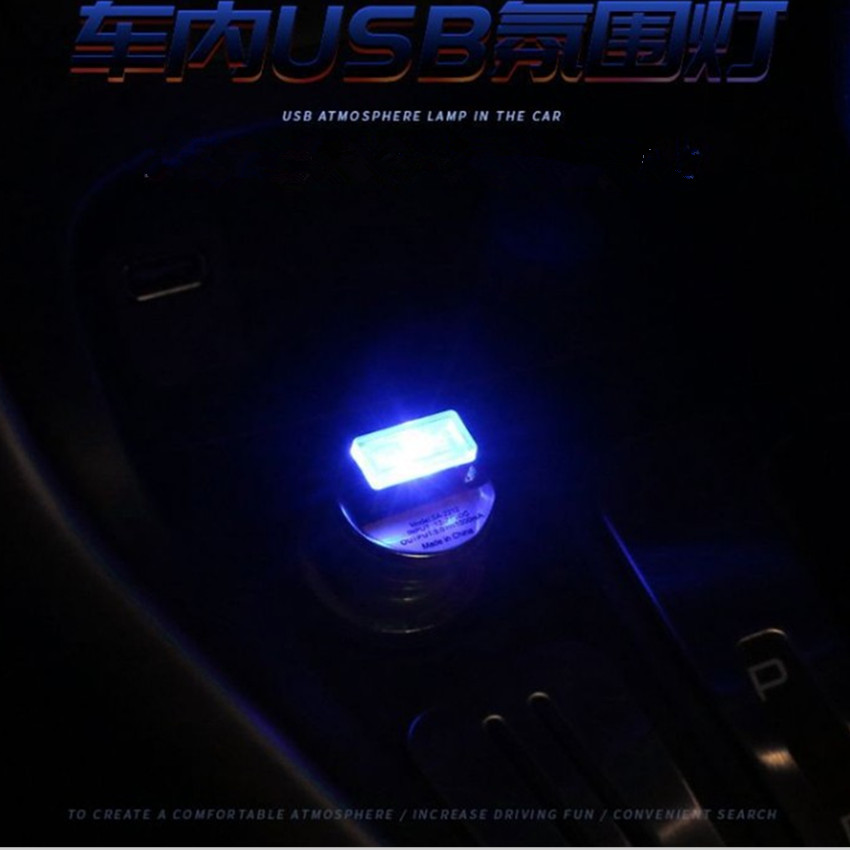 Car Mini USB LED Interior Decorative Light for <font><b>Suzuki</b></font> Grand Vitara 2016 <font><b>Sx4</b></font> swift jimny Hyundai Solaris Verna Tucson Ix35 I30 image