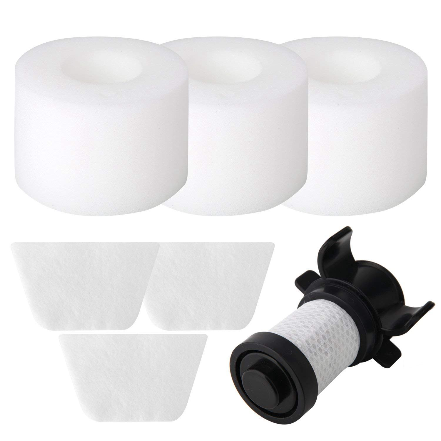SANQ Filters for Shark IONFlex DuoClean Vacuum IF100 IF150 IF160 IF170 IF180 IF200 IF201, IF202 IF205 IF251 IF252 IR70 IR100 I