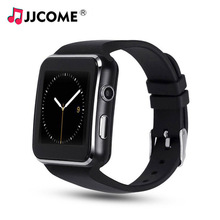 X6 Smart Watch Men SIM Card Smart Clock Call Bluetooth Phone Watch Sport Watches Sleep Reminder PK DZ09 V8 Smartwatch Women Kids