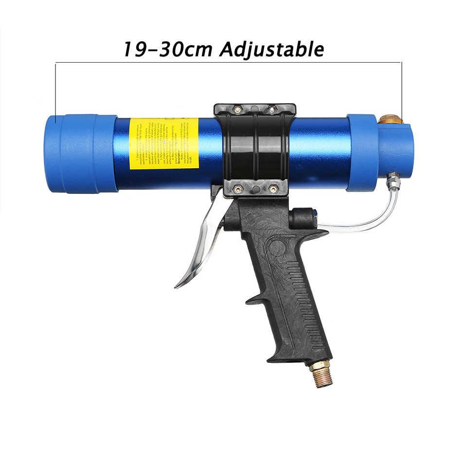 Pneumatische Kit Guns 310ml Air Guns Valve Siliconen Worstjes Caulking Tool Kalefateren Nozzle Glas Rubber Grout Bouw Gereedschap