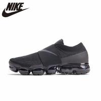 NIKE Air VaporMax Moc оригинальный для мужчин s кроссовки дышащие удобные легкие уличные спортивная обувь для мужчин # AH3397 004
