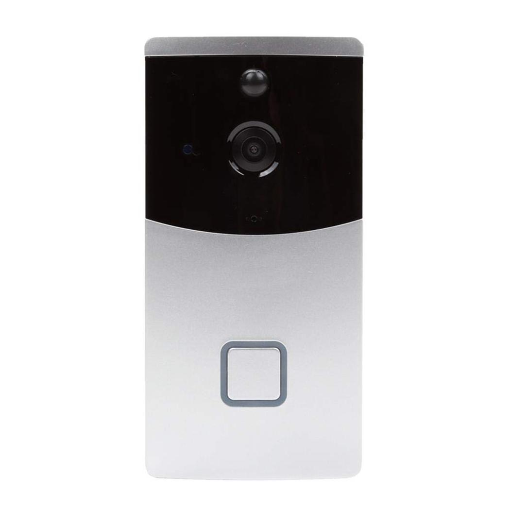 Low Power Intelligent Wifi Voice Intercom Doorbell Home Monitoring 8-32GB Storage Card 720P 2.4GHz DoorbellLow Power Intelligent Wifi Voice Intercom Doorbell Home Monitoring 8-32GB Storage Card 720P 2.4GHz Doorbell