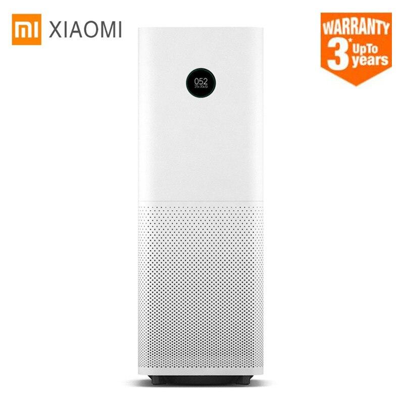 2018 Xiaomi очиститель воздуха Pro Intelligent OLED дисплей CADR 500m3/ч 60m3 беспроводной Смартфон приложение управление бытовая техника