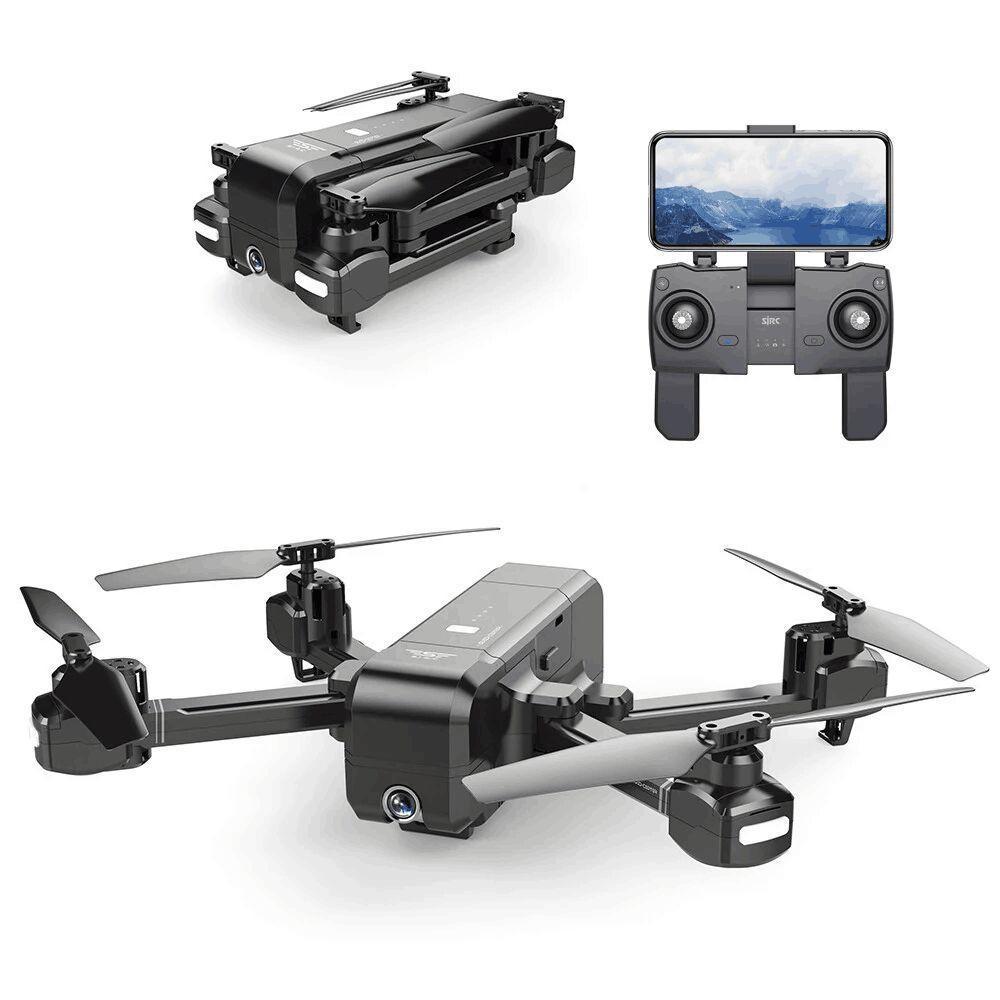 SJRC Z5 Wifi FPV Com A Câmera HD Grande Angular de Alta Espera Mode1080P Câmera Dupla GPS Acompanhamento Dinâmico RC Quadcopter Zangão