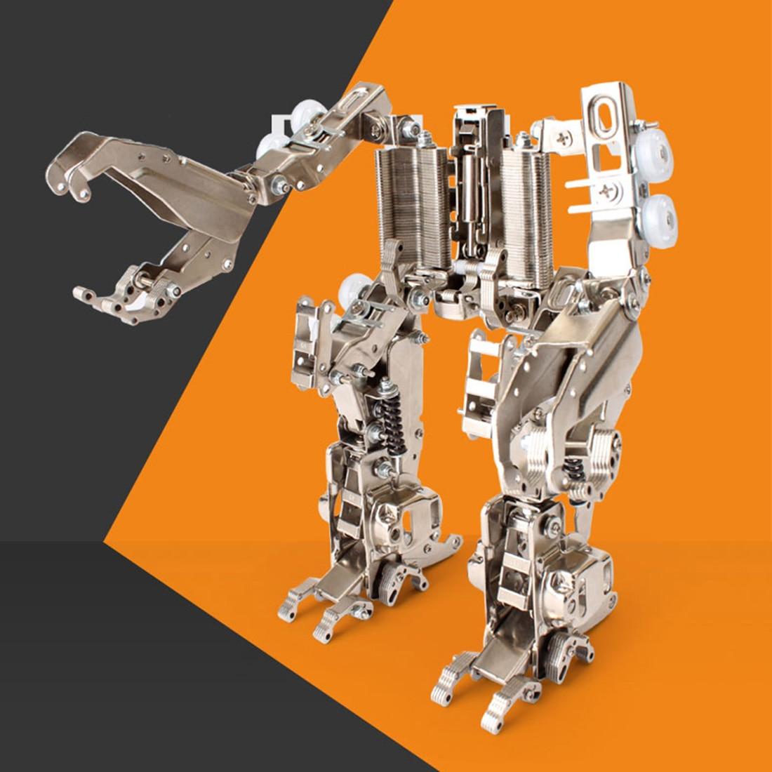 19 cm hauteur grande attaque Mecha Figure modèle Kits métal bricolage assemblage chariot élévateur Robot jouet téléphone Mobile support cadeau pour hommes 2019