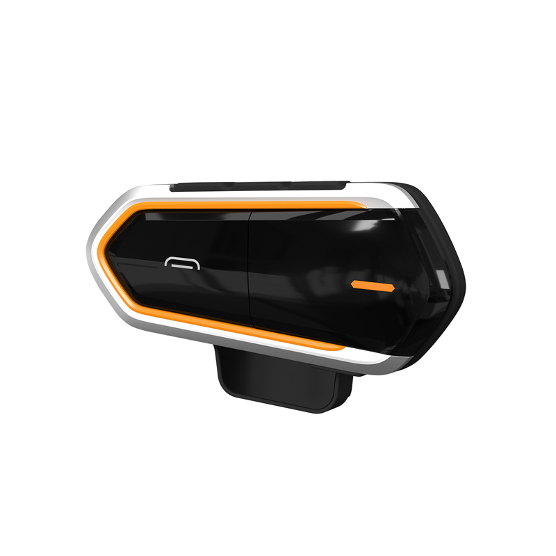 Motorcycle Intercom Helmet Headsets Wireless Bluetooth Interphone Handsfree Waterproof Headset FM Radio Moto Headphone With Mic