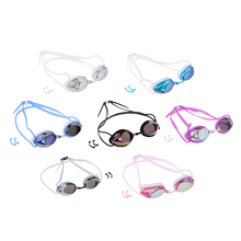 Stylish Anti Fog Swimming Goggle UV Protection Swim Goggles Glasses With Nose Clip For Water Sport Training Aid Equipment Unisex цена