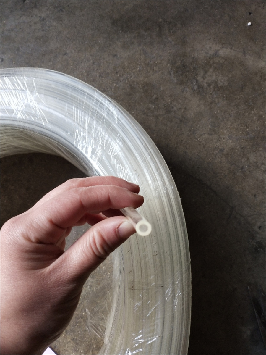 New 3.5m PVC Clear Fuel Line 4mm Oil Pump Dedicated Tubing For Air Diesel Heater