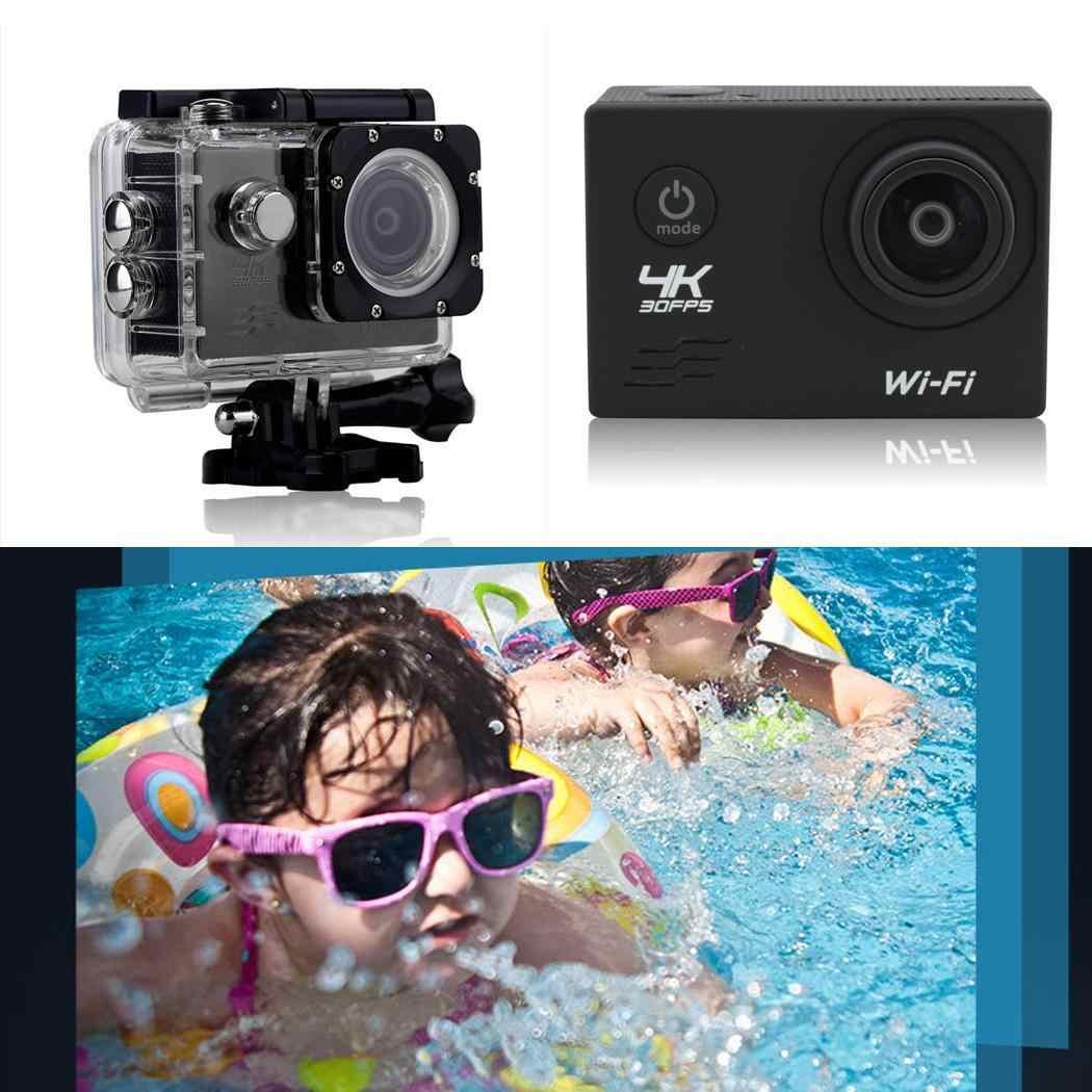 Действие Камера 4 K Wi-Fi Подводные Водонепроницаемый TF 4G-32G Micro USB2.0 спортивные видео 5 V/1A 900 MAH MP4 Повседневная Камера
