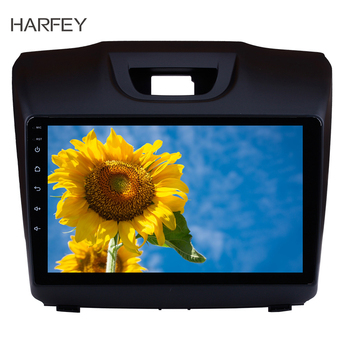Harfey Android 8.1 9 for Chevy Chevrolet S10 2015-2018 ISUZU D-Max Radio GPS navi HD 1024*600 screen DVR car multimedia player image