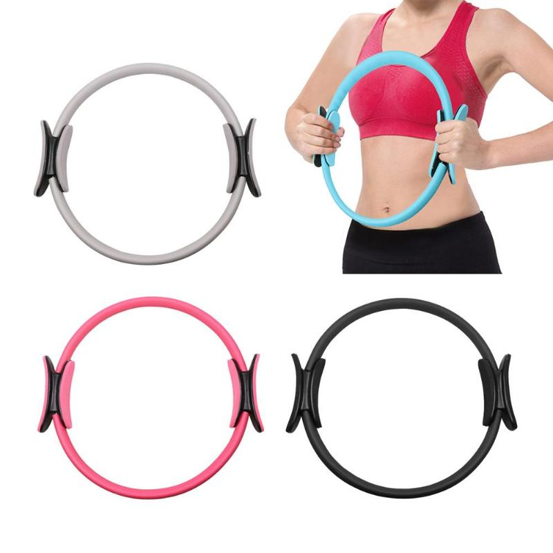 Yoga Circle Pilates Sport Magic Ring Women Fitness Resistance Circle Gym Workout Pilates Accessories Lose Weight Equipment