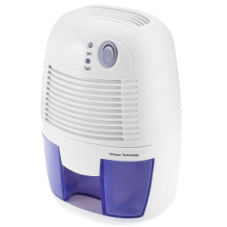 INVITOP Portable 500ML Mini Dehumidifier For Home Moisture Absorbing Air Dryer With Auto-Off And LED Indicator Air Dehumidifier