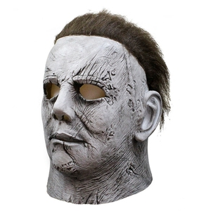Image 3 - Horror Movie Halloween Horror Michael Myers Mask Carnival Cosplay Adult Latex Full Face Helmet Halloween Party Scary Props