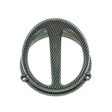 Аксессуары для мотоциклов скутеры универсальные модифицированные имитация углеродного волокна морда вентилятор крышка для YAMAHA SUZUKI HONDA JOG DIO GY6