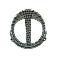 Аксессуары для мотоциклов, скутеры, универсальная Модифицированная крышка вентилятора из углеродного волокна для YAMAHA SUZUKI HONDA JOG DIO GY6
