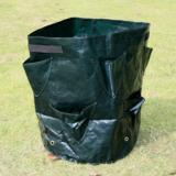 Dark Green Fabric Pots Plant Pouch Aeration Pot Container Vegetable Grow Bags