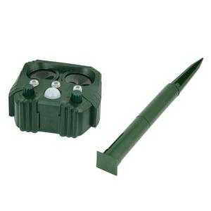 Image 4 - Animal Repeller Solar light bird repeller frighten animals Induction Ultrasonic Strobe Light Burglar Alarm