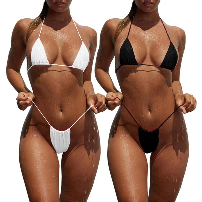 Medical Dynamic Bikinis Mujer Summer Solid Color Fashion Trend Sling Thenude 1