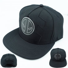 7e45eca7d0b SORRYNAM Superhero Deadpool Black Adjustable Hip Hop Baseball Snapback Caps  Hats