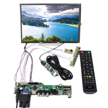 10.1inch M101NWWB 1280X800 LCD Screen With Resistive Touch Panel  and HDMI VGA AV USB RF LCD Controller Board