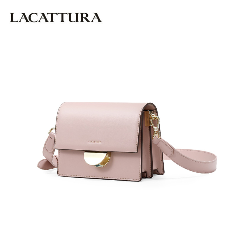 LACATTURA Women Shoulder Small Bag 2019 Luxury Designer Handbags Ladies Messenger Organ Bags Fashion Crossbody for Ladies New-in Shoulder Bags from Luggage & Bags    1