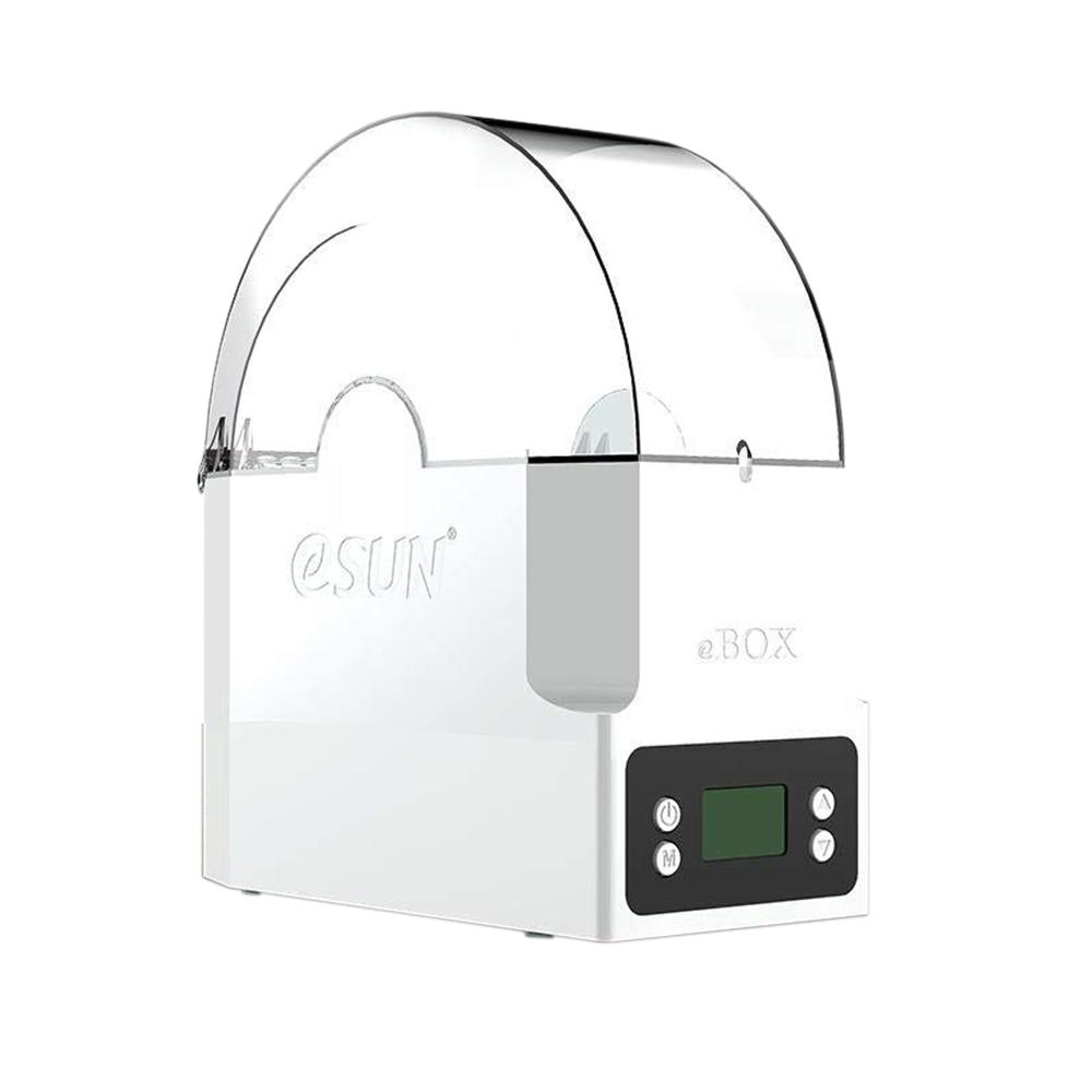 La boîte de stockage de Filament d'impression d'esun eBOX 3D déshydrate le Filament garde le Filament sec et mesure le poids