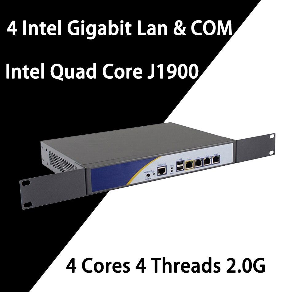 Брандмауэр Mikrotik Pfsense vpn-сеть, устройство безопасности, маршрутизатор ПК Intel четырехъядерный COM J1900,[HUNSN SA18R],(4LAN/LAN/2USB/1VGA)