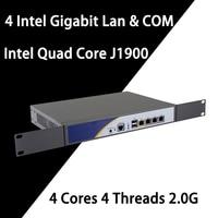 Firewall Mikrotik Pfsense VPN Network Security Appliance Router PC Intel Quad Core COM J1900,[HUNSN SA18R],(4LAN/LAN/2USB/1VGA)