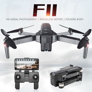 SJRC F11 Drone GPS Professional 5G WiFi Brushless RC Dron 25mins Flight Time 1080P Selfie FPV Drone Quadcopter With Camera HD Cameras Cameras & Photography Consumer Electronics Electronics Photo Cameras Video Cameras