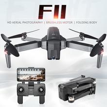 SJRC F11 Drone GPS profesjonalny 5G WiFi bezszczotkowy RC Dron 25 minut czas lotu 1080P Selfie Dron FPV kwadrokopter z kamerą HD tanie tanio Pilot zdalnego sterowania 4 kanałów Kamera w zestawie XIAOMI 1080 p hd video recording Brak