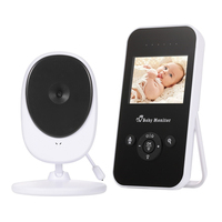 Hot Sale!!! 2.4 inch Wireless Video Baby Monitors Indoor & Outdoor Night Vision Temperature Monitoring Security Camera for Baby