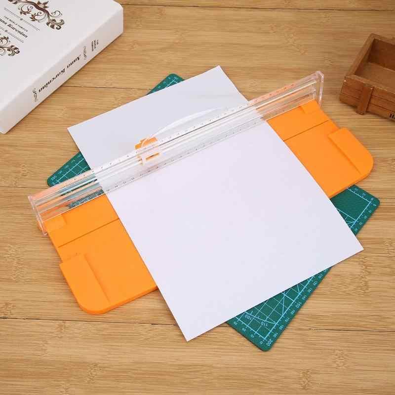 1 ud. Mini cuchillo de repuesto para cortadora de papel A4, cortador de papel, cortador de papel Sparep para bricolaje, álbum de recortes, herramientas de estera de corte de fotos