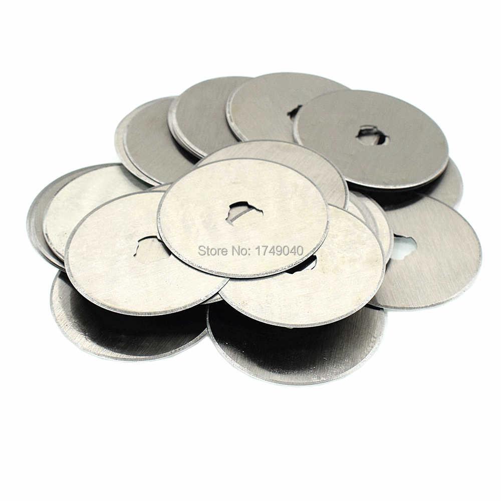 Lames de coupe rotatives 28mm 45mm lames de recharge circulaires Quilting couture tissu cuir vinyle Film papier artisanat coupe outils à main
