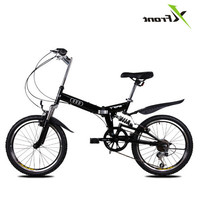 New Brand 20 Inch Aluminum Alloy Damping Folding Bike Mountain Bicycle Downhill Bmx Bisiklet