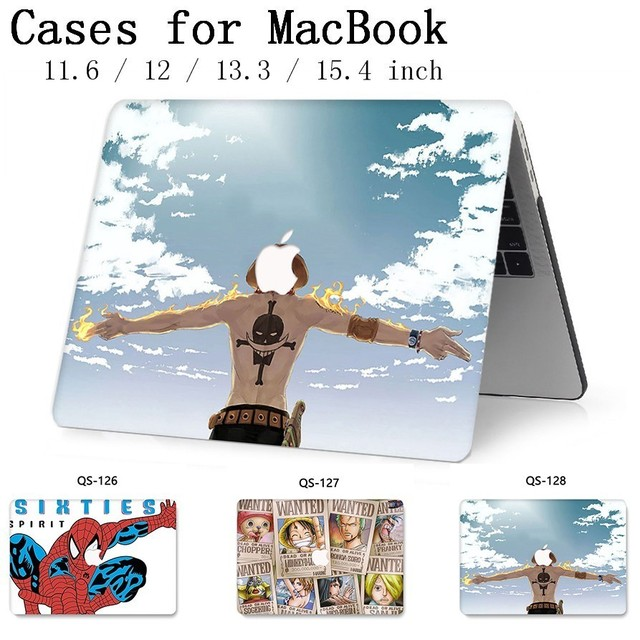 New For Notebook MacBook Case For Laptop MacBook Sleeve Air Pro Retina 11 12 13.3 15.4 Inch With Screen Protector Keyboard Cove
