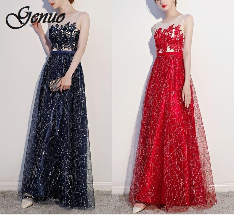 Lange Blau Halb Frühling Elegant Vestidos Verkauf Kleid Frauen Festa Heißer Für Oansatz Weibliche Laterne Böhmischen Sommer Hülse rot De 9WED2HI