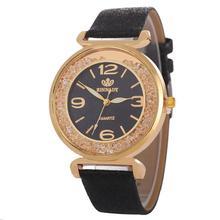 2019 Luxury Women Watch Leather Band Quartz Watch Ladies Fas