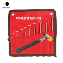 Paintball Gunsmith Roll Pins Punch Set Bolt Catch Double Faced Soft Rubber Mallet Hammer Tool Kit Hunting Army Game Accessories