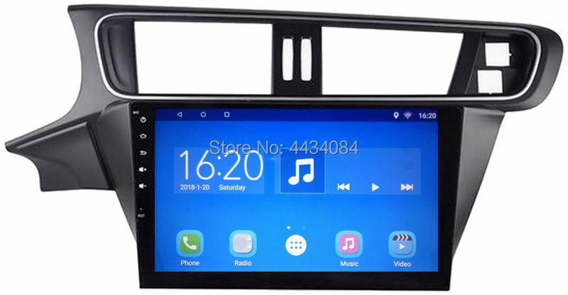Ouchuangbo car gps nav audio madia android 7.1 for Citroen C3-XR support SWC 3G wifi USB AUX bluetooth video
