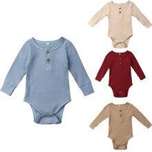 В году, новое весенне-осеннее боди с резинкой и рюшами для новорожденных девочек и мальчиков