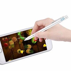 Image 5 - פעיל עט Stylus קיבולי מסך מגע עט עבור Huawei על כבוד 9 10 לייט 6A 7A RU 6c 7C פרו y9 Y6 ראש טלפון נייד מקרה