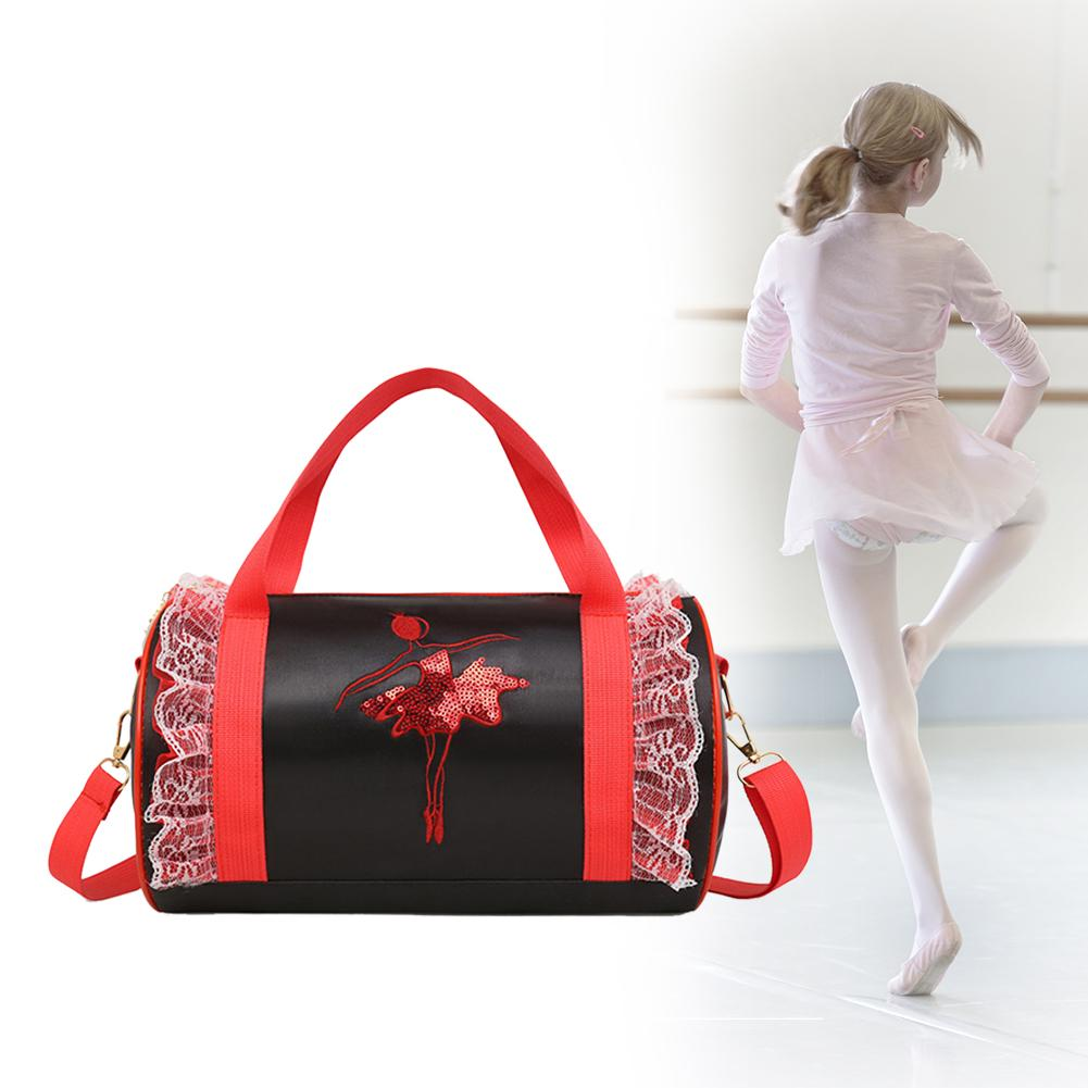 Children's Back Baby Belt Dance Bag Shoulder Bag Girls Latin Dance Bag Children's Ballet Bag Cross-body Dance Bag