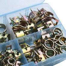 Hose-Clip Pipe-Tube Band-Clamp Assortment-Kit Metal-Fastener Fuel-Oil Water-Cpu Vacuum-Spring