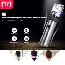 RIWA X9 recortador de pelo profesional de cabello eléctrica cortadora de  corte de pelo máquina de afeitar de pelo cortador de ho. c0677c04e40e